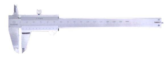 کولیس ساده 15 سانتی متری